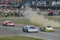 Martin Ponte, Nero53 Racing Dodge, Matias Rossi, Donto Racing Chevrolet, Guillermo Ortelli, JP Racin