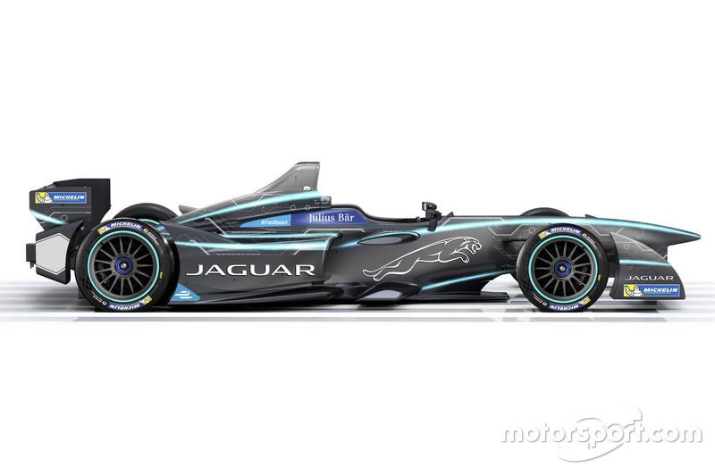 Pintura da Jaguar na Fórmula E