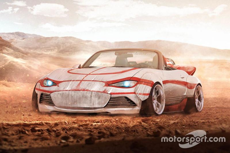 De Landspeeder van Luke Skywalker is ook als Mazda MX-5 klaar voor avontuur