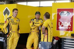 Nicky Catsburg, Lada Sport Rosneft en Rob Huff, Lada Sport Rosneft