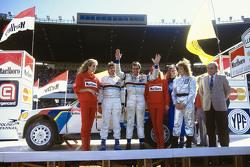 Terzo posto Carlos Reutemann e Jean-François Fauchille, Peugeot 205 T16