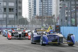 Николя Прост, Renault e.Dams и Оливер Роуленд, Mahindra Racing Formula E Team