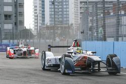Nathanael Berthon, Team Aguri en Bruno Senna, Mahindra Racing Formula E Team