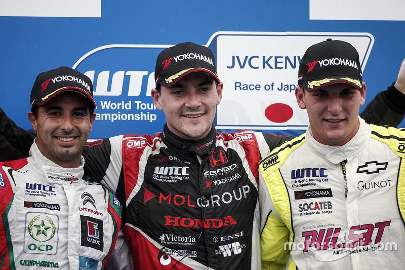 Norbert Michelisz, Zengo Motorsport, Mehdi Bennani, Sébastien Loeb Racing and Hugo Valente, Campos R