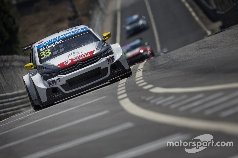 Ма Цин Хуа, Citroën C-Elysée WTCC, Citroën World Touring Car team