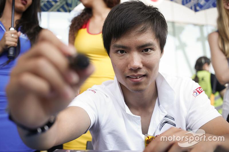 Ma Qing Hua, Techeetah