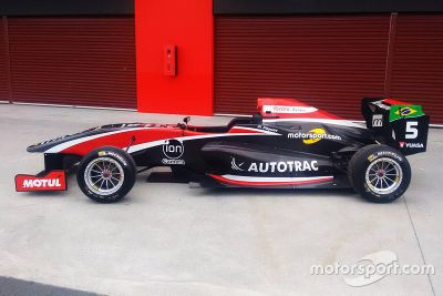 Pedro Piquet livery unveil