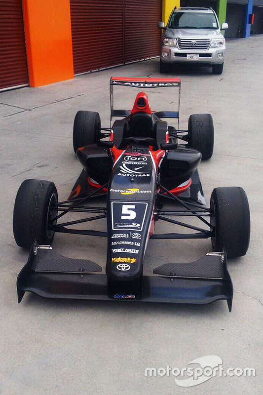Pedro Piquet's Toyota Racing Series livery