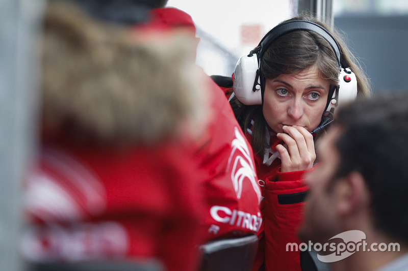 Claire Magnant, Citroën World Touring Car team