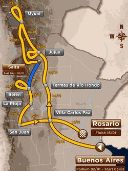 Stage 8: Salta - Belen