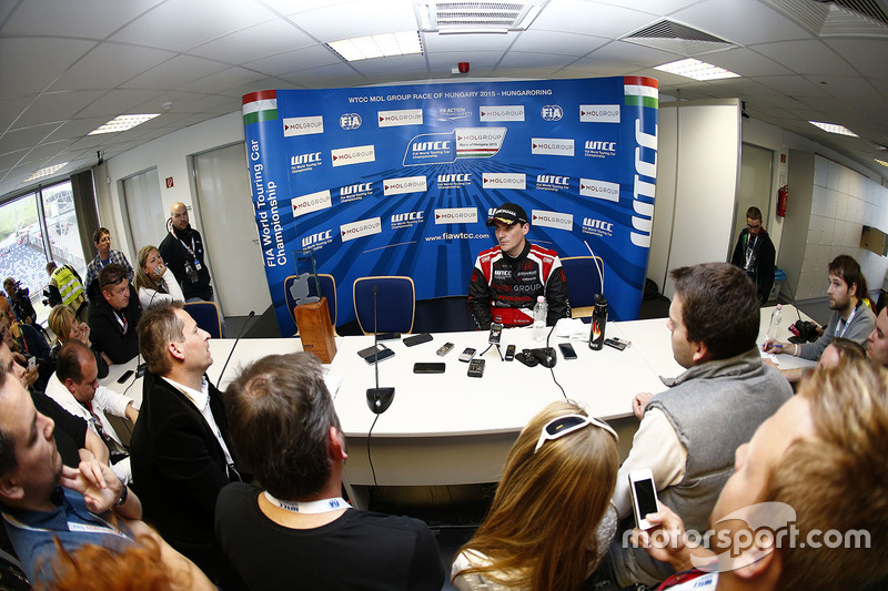 Press conference: Norbert Michelisz, Honda Civic WTCC, Zengo Motorsport