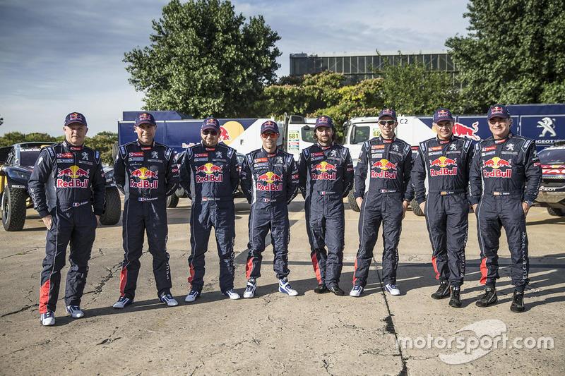 Peugeot Sport drivers photo