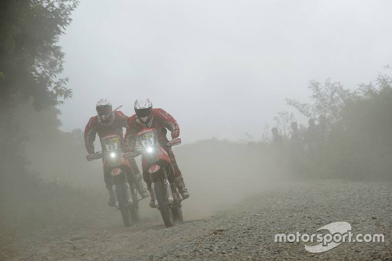 #93 KTM: Rosa Romero, #62 KTM: Daniel Oliveras