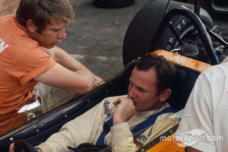 Tyler Alexander y Bruce McLaren
