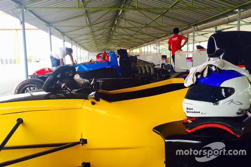 MRF 1600: Chennai January testing