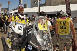 Tercer lugar, motos, Pablo Quintanilla