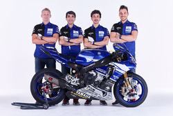 David Checa, Louis Rossi, Niccolo Canepa avec Christophe Guyot, team manager du GMT94