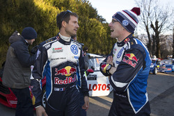 Sébastien Ogier et Jari-Matti Latvala, Volkswagen Motorsport