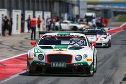 #8 Bentley Team HTP Bentley Continental GT3: Фабиан Хампрехт, Клеменс Шмид