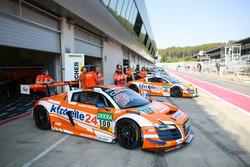 #100 MS Racing Audi R8 LMS ultra: Данель Добіч, Едвард Сістрьом