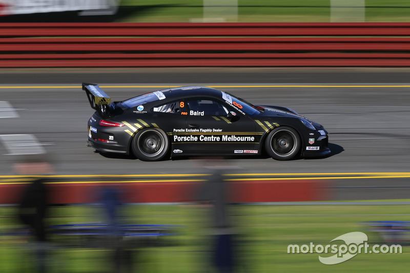 Craig Baird Porsche Carrera Cup Australia announcement