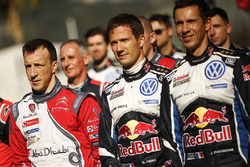 Kris Meeke, Citroën World Rally Team, Sébastien Ogier, Julien Ingrassia, Volkswagen Motorsport