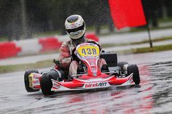 Heavy rain during practice