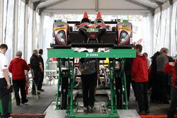 #8 Starworks Motorsport ORECA FLM09 Chevrolet: Alex Popow, Renger van der Zande, Chris Cumming, Jack Hawksworth