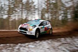 Alexey Lukyanuk  und Yevhen Chervonenko, Ford Fiesta R5, Ford Fiesta R5
