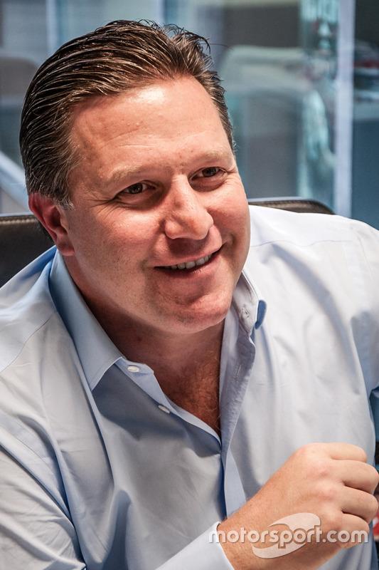 Zak Brown, Président non-exécutif, Motorsport.com