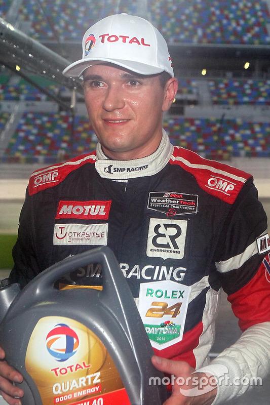 Polesitter #37 SMP Racing BR01 Nissan: Mikhail Aleshin