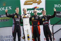 Патрик Линдси, Мэттью МакМарри, Йорг Бергмайстер и Норберт Зидлер, #73 Park Place Motorsports Porsche GT3 R