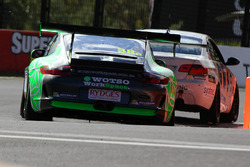 #38 Wall Racing, Porsche 911 GT3 Cup S: Paul Tresidder, Daniel Bilski, David Wall