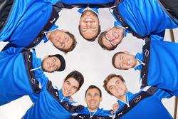 Chistian Vetoris, Esteban Ocon, Robert Wickens, Lucas Auer, Paul die Resta, Maximilian Götz, Gary Paffett, Daniel Juncadella, Mercedes-AMG DTM Team HWA AG