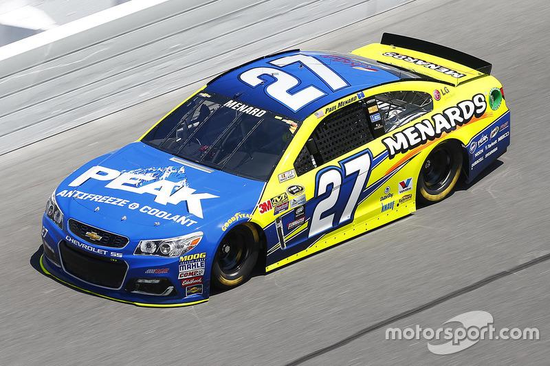 #27 Paul Menard (Childress-Chevrolet)