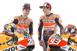 Marc Marquez, Repsol Honda Team en Dani Pedrosa, Repsol Honda Team