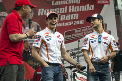 Marc Marquez, Repsol Honda Team and Dani Pedrosa, Repsol Honda Team