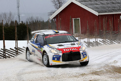 Emil Bergkvist, Joakim Sjテカberg, Citroテォn DS3 R5