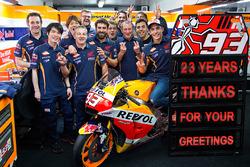 Marc Marquez, Repsol Honda Team birthday