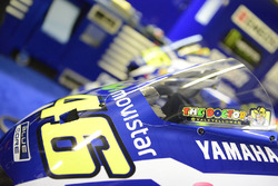 Valentino Rossi, Yamaha Factory Racing bike detail