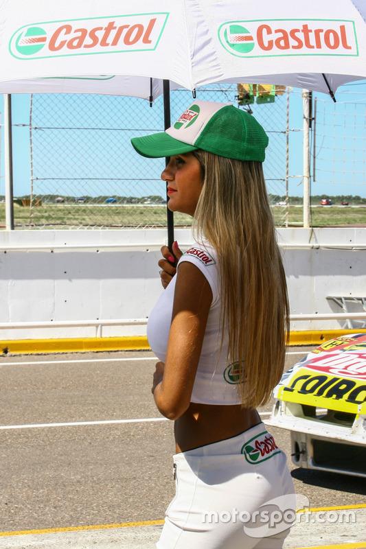 Chicas del Paddock  Argentina Castrol