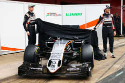 Нико Хюлькенберг, Sahara Force India F1 и Серхио Перес, Sahara Force India F1 представляют Sahara Force India F1 VJM09