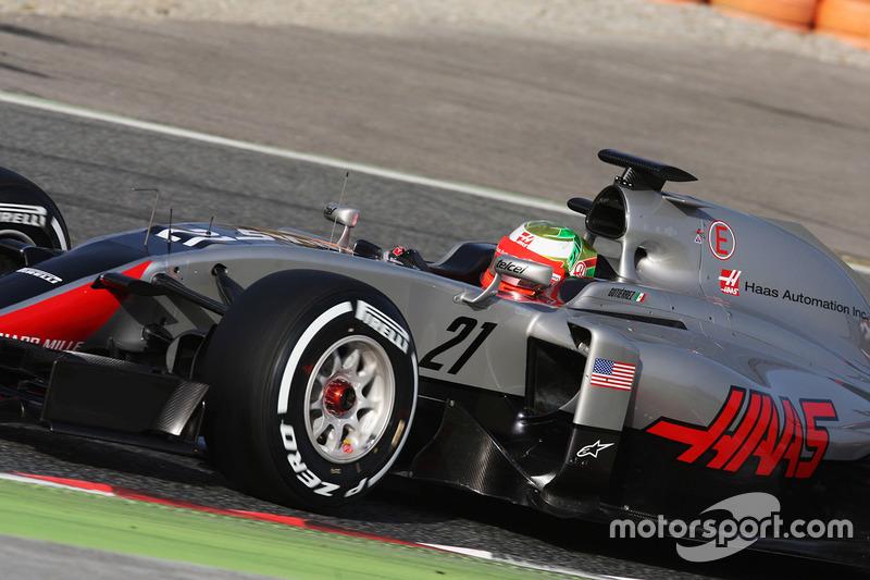 2016 Esteban Gutiérrez, Haas F1 Team VF-16