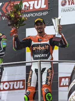 Podium: third place Davide Giugliano, Aruba.it Racing - Ducati Team