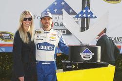 Sieger Jimmie Johnson, Hendrick Motorsports Chevrolet