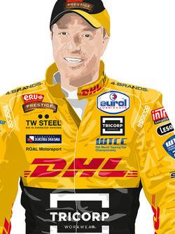 Rennfahreranzug für Tom Coronel