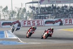 Chaz Davies, Aruba.it Racing - Ducati Team and Davide Giugliano, Aruba.it Racing - Ducati Team