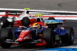 Giorgio Pantano leads Romain Grosjean