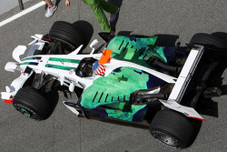Alexander Wurz, Test Driver, Honda Racing F1 Team, detail