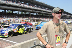 2002 MotoGP Champion Colin Edwards visits Indianapolis Motor Speedway